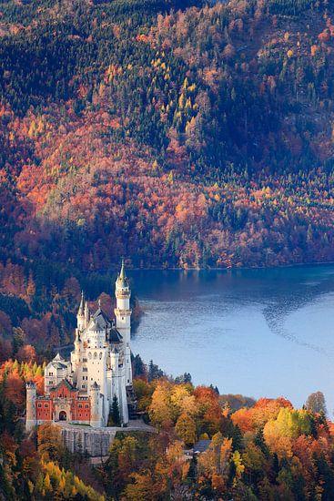 Neuschwanstein Castle in Autumn Colours