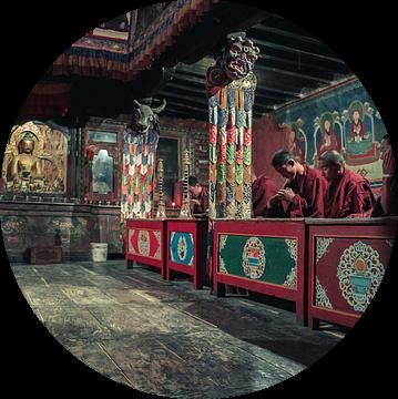 boeddhistische tempel van Edgar Bonnet-behar