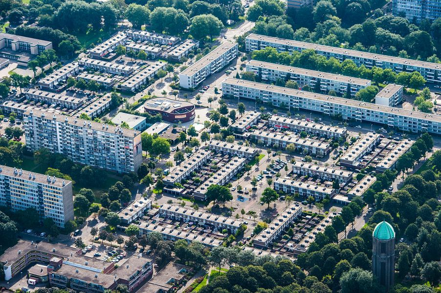 De wijk Overvecht in Utrecht