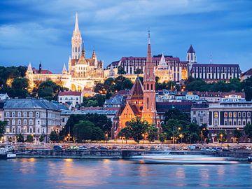 Budapest Skyline / Fischerbastei von Alexander Voss