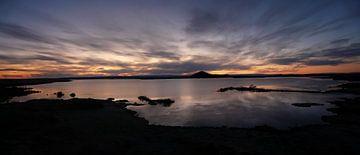 Himmlischer Sonnenuntergang in Island von iPics Photography