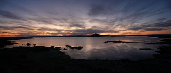 Hemelse zonsondergang in IJsland van iPics Photography