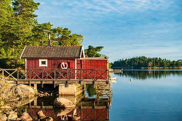 Schärengarten an der schwedischen Küste vor Stockholm sur Rico Ködder