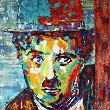 """Charlie CHAPLIN """"Moderne Zeiten"""" von Kathleen Artist von Kathleen Artist Fine Art"""