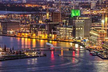 Le pont de Rijnhaven, Rotterdam sur Frans Blok