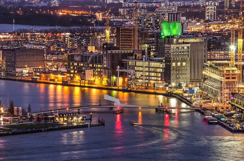 Rijnhavenbrug Rotterdam van Frans Blok