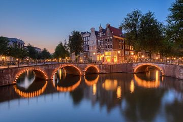 Keizersgracht Amsterdam van Michael Valjak