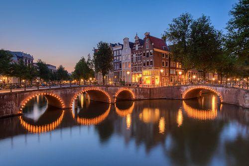 Keizersgracht Amsterdam von Michael Valjak