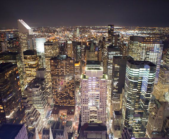 Midtown Manhatan Skyline, New York