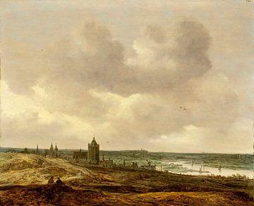 Blick auf Arnheim, Jan van Goyen