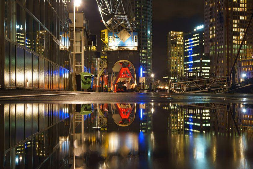 Leuvehaven, Rotterdam van Michel van Kooten