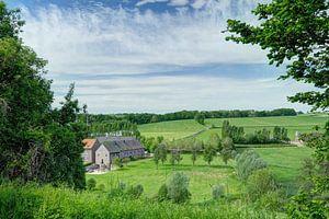 Vergezicht Limburgs landschap