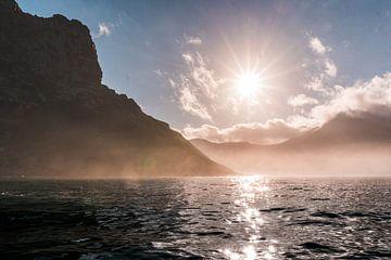 Sonnenaufgang am Meer von Pepijn van der Putten