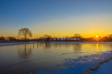 zonsopkomst in Moerenburg