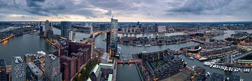 Panorama Rotterdam von Martijn Kort