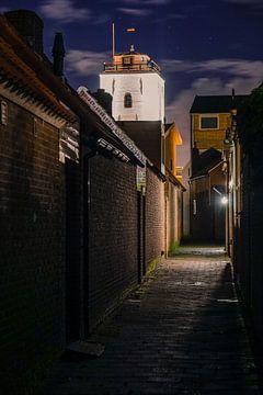 Vuurtoren van Katwijk! van Dirk van Egmond