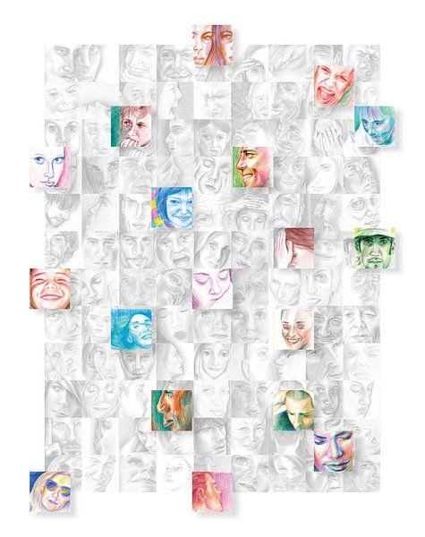 Connected people von ART Eva Maria