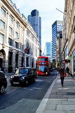 Straat in Londen van