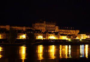 Kasteel Amboise by night