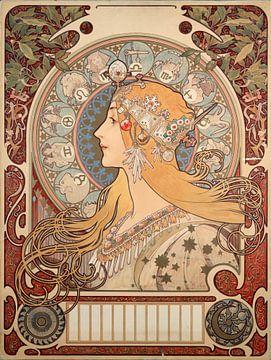 Magazin La Plume - Alphonse Mucha