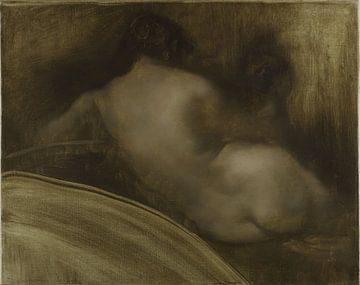 Rücken einer nackten Frau 1889 - 1991 von Atelier Liesjes