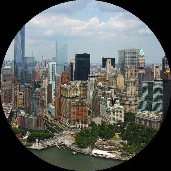 new york city ... manhattan view V van Meleah Fotografie
