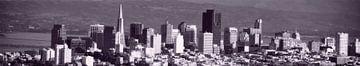 San Francisco City Skyline sur Wouter Goedvriend
