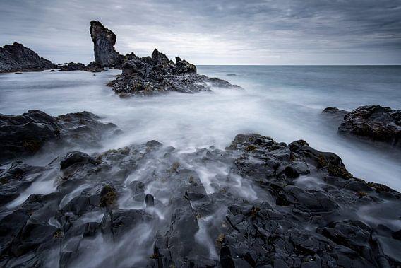 De grillige kust van Snaefellsnes