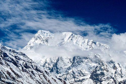 Bergtop in de Himalaya