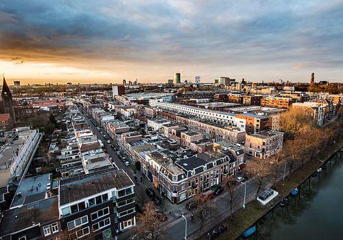 Prachtig uitzicht op Utrecht