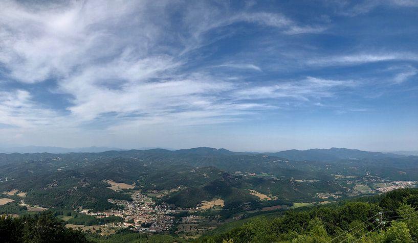Uitzicht Spaans dorp van Ilse Photography