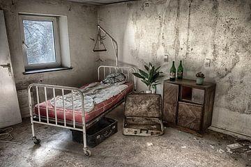Verlaten verpleeghuis van Arthur de Rijke