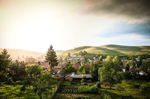 Ungarische Aussicht von Leon Weggelaar