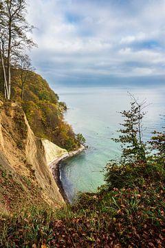 Baltic Sea coast on the island Ruegen, Germany van Rico Ködder