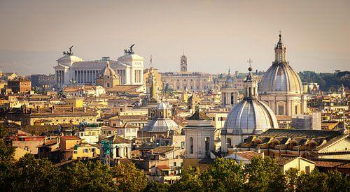 Rome in panorama van