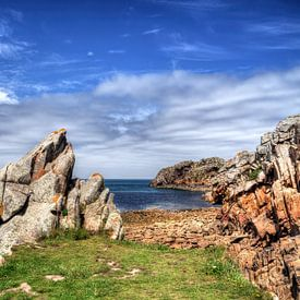 Finistère Bretagne Frankreich von Watze D. de Haan