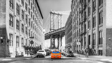 Manhattan Bridge, vanuit Brooklyn gezien van Stewart Leiwakabessy