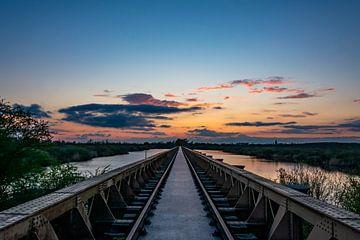 Sonnenuntergang Moerputten von Eline Huizenga