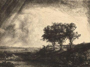 Die drei Bäume, Rembrandt van Rijn von Het Archief
