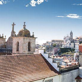 Vue aérienne de Porto sur Eddie Meijer