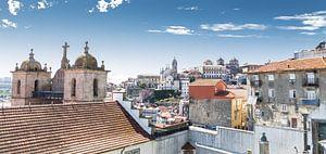 Bird eye view Porto