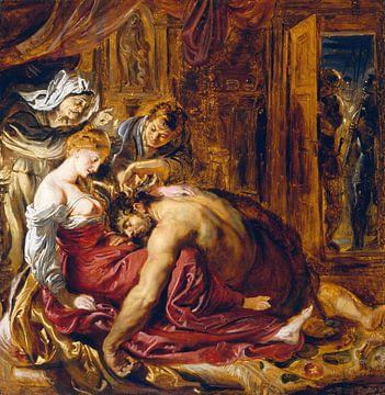 Peter Paul Rubens, Samson und Delilah - 1609 von Atelier Liesjes