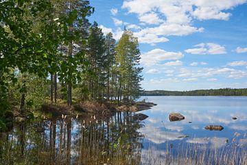 Schwedische Landschaft 152 von Geertjan Plooijer