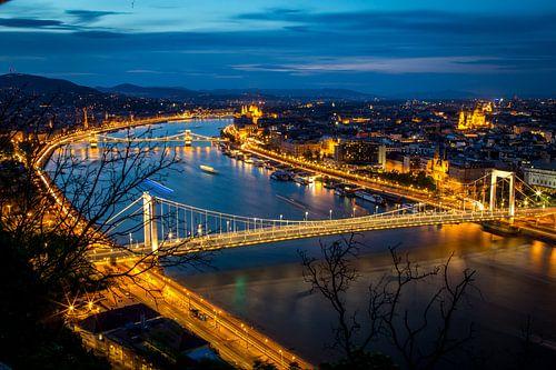 Skyline Budapest van