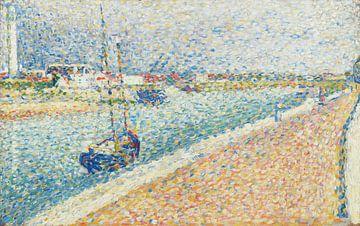 Georges Seurat, Der Kanal von Gravelines, Abend - 1890 von Atelier Liesjes