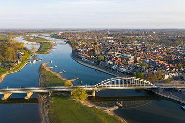 Luchtfoto Deventer van Jeroen Kleiberg