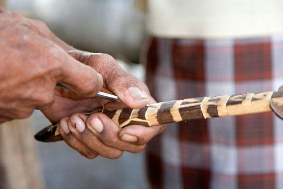 Working Hands: de houtbewerker van Brenda Reimers