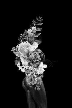 Bloemen lijn van Dreamy Faces