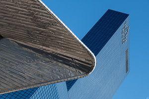 Rotterdam Centraal Station met de Delftse Poort