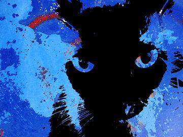 Kattenkunst - Storm 5 van MoArt (Maurice Heuts)